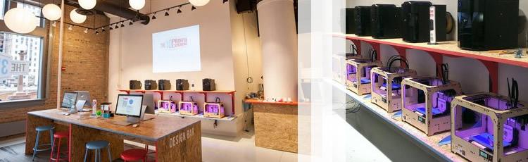 imagine pentru articolul: Magazinul de printare 3D a sosit în Chicago