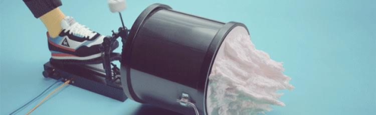 imagine pentru articolul: Clip printat 3D – omagiu adus muzicii electronice