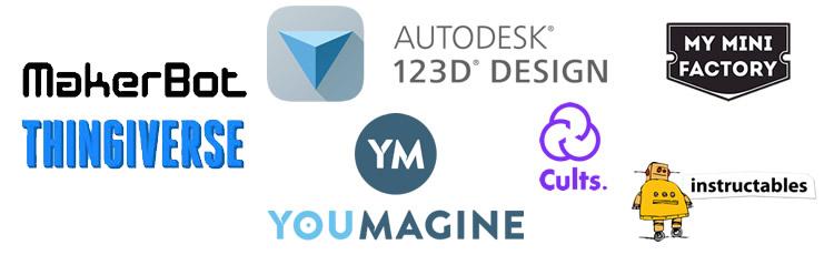imagine pentru articolul: 7 site-uri unde găsiți modele printabile 3D