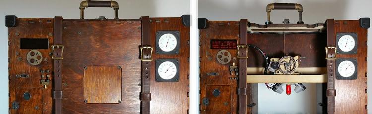 imagine pentru articolul: Cel mai steampunk printer 3D