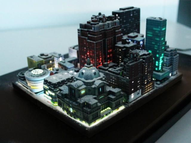oraș în miniatură