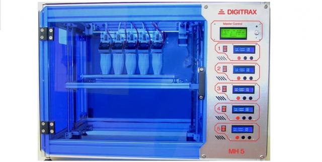 primul printer 3d cu 5 capete